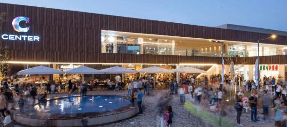 מרכז מסחרי C center קיסריה