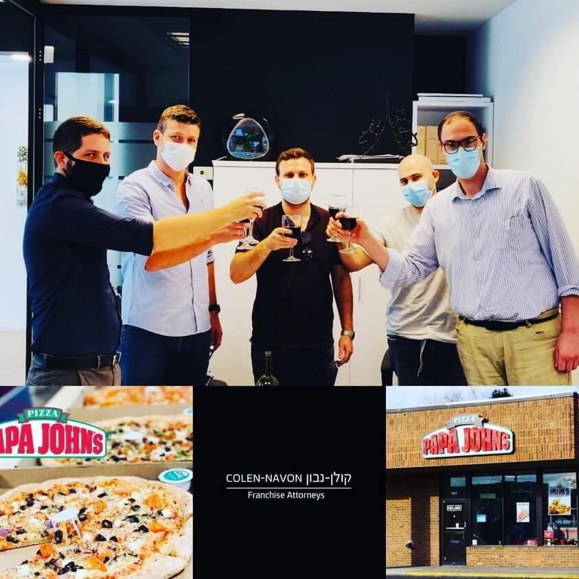 עסקת זכיינות – Papa John's Pizza מודיעין